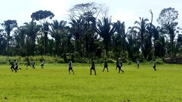 Times do sub-16 e 20 do Rondoniense se preparam para competições 2017 (Foto: Lívia Costa)