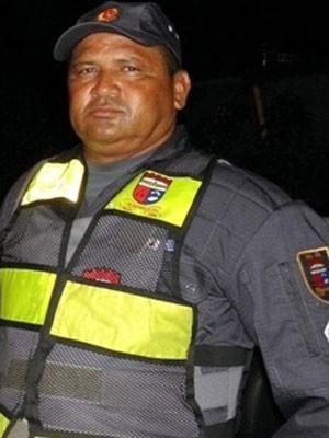 Cabo José Nazareno de Aquino, de 50 anos (Foto: Jailton Farias)