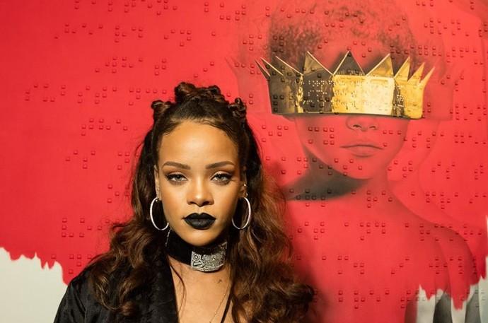 Rihanna quebrou a internet com o lançamento de novo disco (Foto: Divulgação)