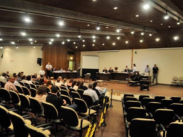 Júri de Gil Rugai ocorre desde 13h15 no Fórum da Barra Funda, em São Paulo (Foto: Adriano Lima/Brazil Photo Press/Estadão Conteúdo)