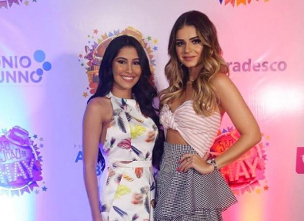 As blogueiras Thaynara OG e Tássia Naves (Foto: Reprodução/Instagram)