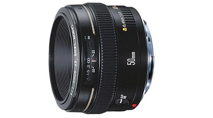 Canon EF 50MM F/1.4 USM, lentes prime são mais compactas. (Foto: Adriano Hamaguchi/TechTudo)