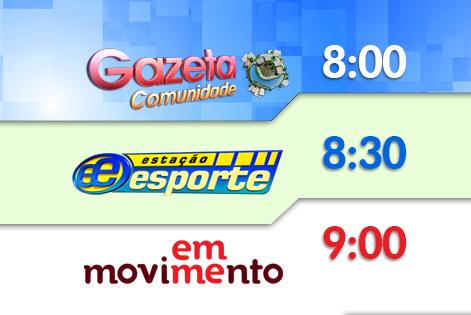 Mudanças na grade de programação da TV Gazeta (Foto: Divulgação/ TV Gazeta)