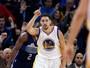 Thompson ofusca Curry e comanda quinta vitória seguida dos Warriors