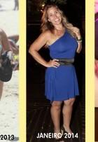 'Cheguei no meu corpo perfeito', diz Andréia Sorvetão agora com 63kg
