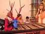 Flor do Caribe: Grazi Massafera se diverte nos intervalos de gravações