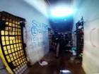 Vídeo mostra estrago feito por presos durante motim no presídio de Palmas