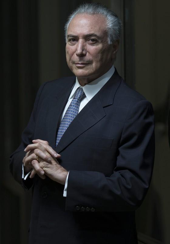 O vice presidente Michel Temer (Foto: Igo Estrela / Editora Globo.)