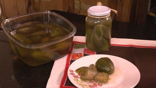 Aprenda receita de doce de jiló