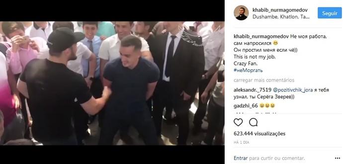 Khabib Nurmagomedov post (Foto: Reprodução / Instagram)
