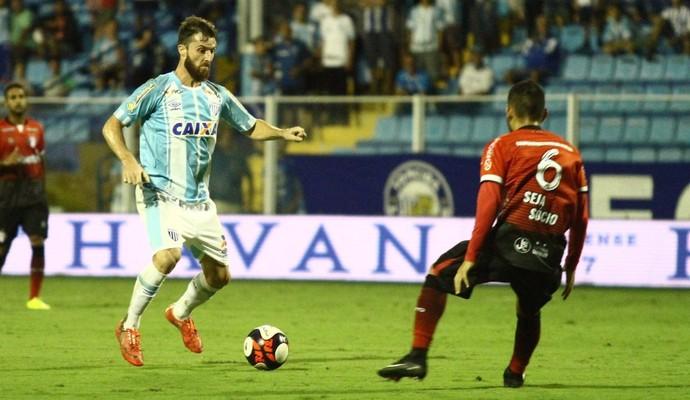 Diego Jardel Avaí x Joinville (Foto: Jamira Furlani/ Avaí FC)