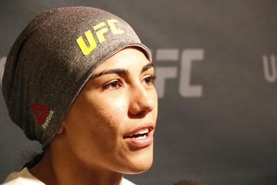 Jessica Andrade; Jessica Bate-Estaca; UFC (Foto: Evelyn Rodrigues)