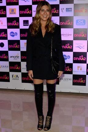 Fernanda Paes Leme em pré-estreia de filme em São Paulo (Foto: Francisco Cepeda/ Ag. News)