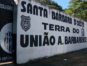 União Barbarense treino (Foto: Oscar Herculano Jr / EPTV)