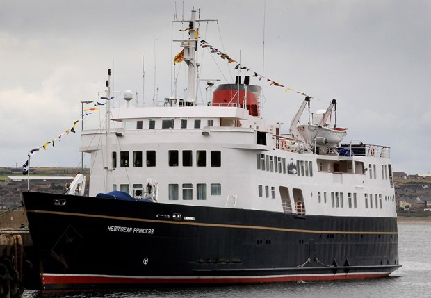 O navio Hebridean Princess (Foto: Getty Images)