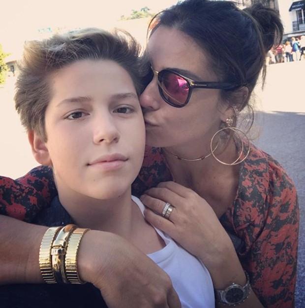 Giovanna Antonelli e Pietro (Foto: Reprodução/Instagram)
