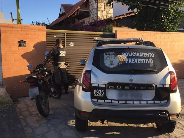 Assalto a ateliê aconteceu no bairro do Bessa (Foto: Walter Paparazzo/G1)