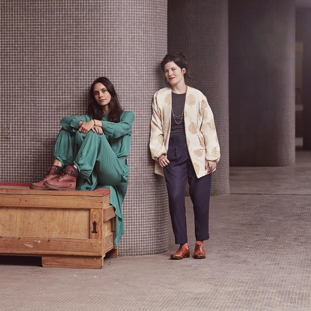 Cris Barros com a Fernanda Brenner (Foto: Divulgação)