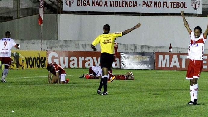 CRB x Mogi, em Mogi (Foto: Júnior de Melo/Divulgação CRB)