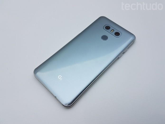 [marca] LG G6  (Foto: Thássius Veloso/TechTudo)