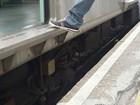 Internauta registra 'degrau' entre trem e plataforma em Itaquaquecetuba