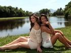 Fotos: Angela Sousa e Lidiane Rodrigues exibem looks perfeitos para aproveitar os dias quentes de verão