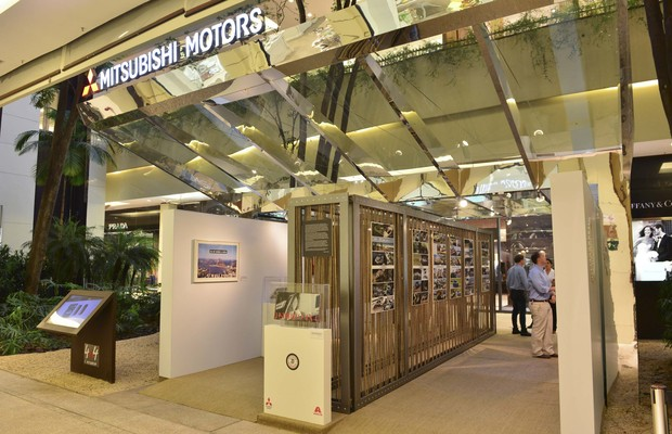 Lançamento livro Mitsubishi Motorsports 2014 (Foto: Divulgação)