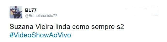 Internauta comenta desfile de Susana Vieira (Foto: Reprodução da Internet)