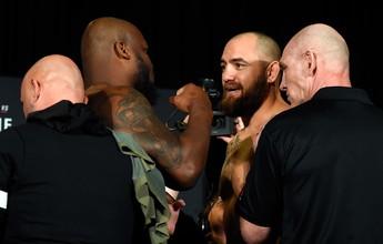Em duelo de extremos, Derrick Lewis e Travis Browne lideram UFC em Halifax