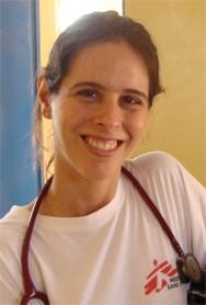 A médica Rachel Soeiro, do MSF (Foto: MSF/BBC)