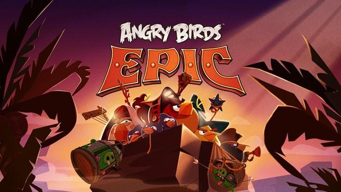 Angry Birds Epic é um RPG com combates em turnos entre pássaros e porcos (Foto: Divulgação)