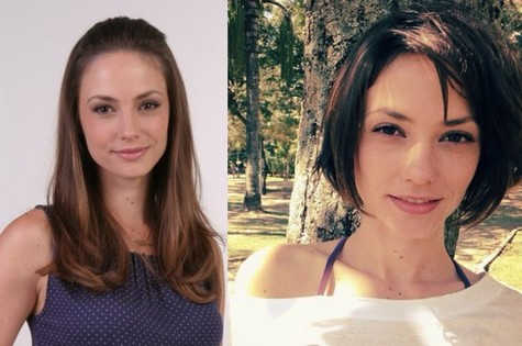 Rosane antes e depois (Foto: Divulgação)