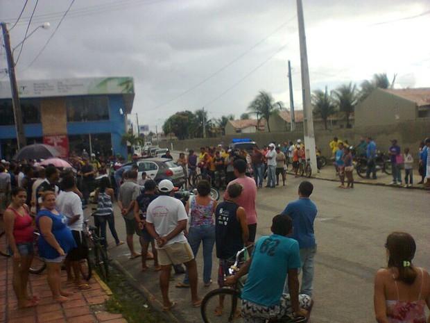 José Carlos da Silva foi executado com vários tiros (Foto: Lamonier Araújo/Inter TV Cabugi)