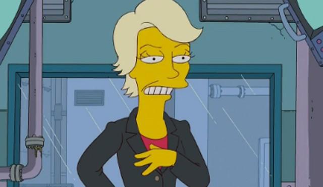 Jane Lynch dá voz a personagem de Os Simpsons (Foto: Divulgação)