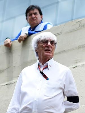 Bernie Ecclestone, chefe dos direitos comerciais da F1
