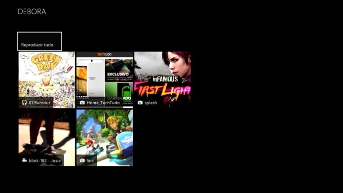Xbox One: como reproduzir músicas, filmes e fotos de um dispositivo USB no console (Foto: Reprodução/Murilo Molina)