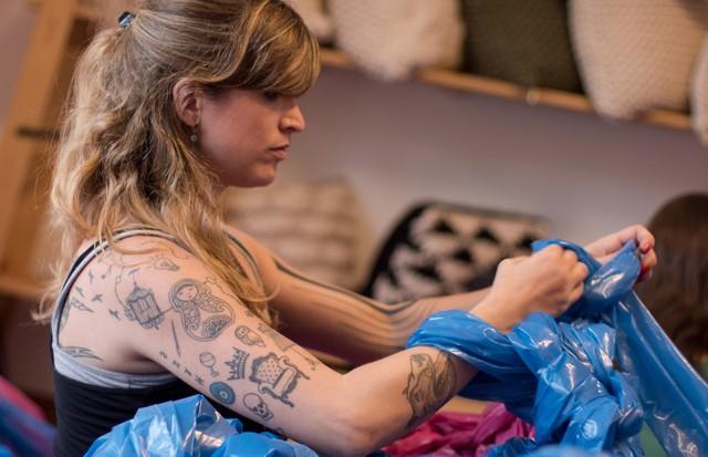 Anne em ação (Foto: Gabriel Sousa)