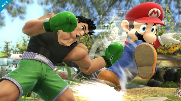 Little Mac é confirmado para Super Smash Bros. no Wii U e 3DS (Foto: Divulgação)