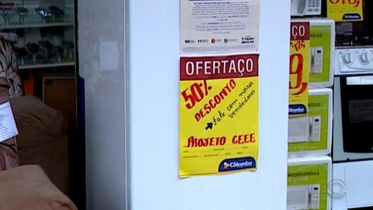 Projeto que oferece 50% de desconto na compra de geladeiras é aberto para moradores da capital