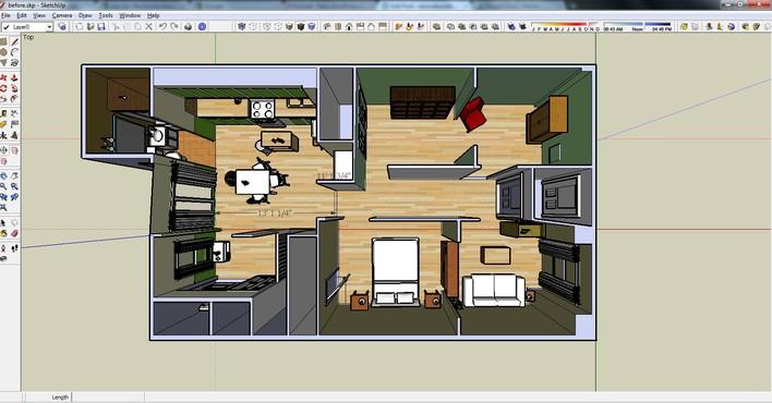 Google sketchup download techtudo for Azulejos para sketchup 8