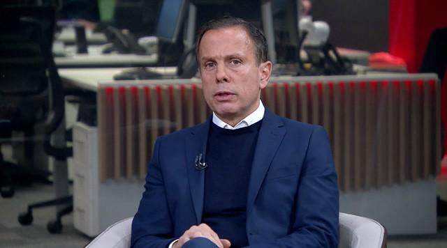 Após vitória, Doria foca em segurança e cita Bolsonaro