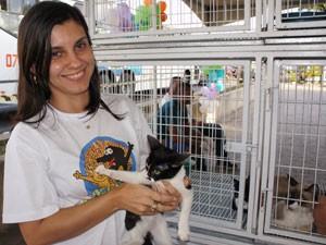 Nara Arruda, chefe da seção de controle de vetores do Centro de Vigilância Ambiental e Zoonoses em João Pessoa, Paraíba (Foto: Inaê Teles/G1)