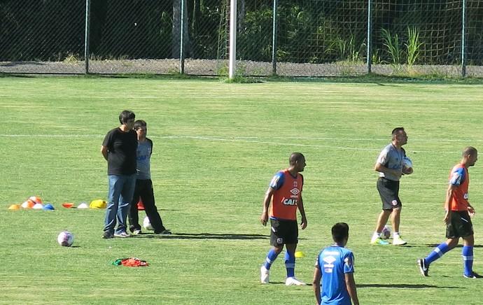 Euriquinho e Angioni, Treino Vasco (Foto: Raphael Zarko)