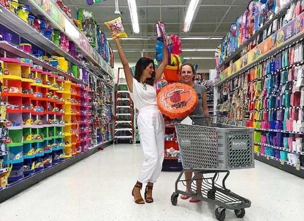Isabella Fiorentino e a amiga Fernanda Pires Vidal (Foto: Reprodução/Instagram)