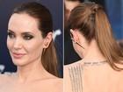 Joias de Angelina Jolie chamam atenção em première nos EUA