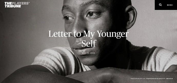"""Pelé no site """"The Players Tribune"""" (Foto: Reprodução de site)"""