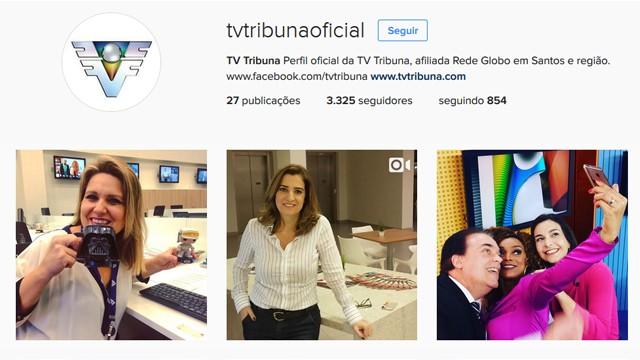 a8e28b915 Siga o Instagram da TVTribuna   tvtribunaoficial (Foto  Reprodução   TV ...