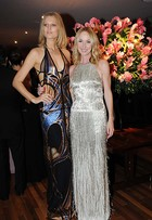 Top namorada de DiCaprio e outras famosas vão à festa em homenagem à diretora criativa de Gucci