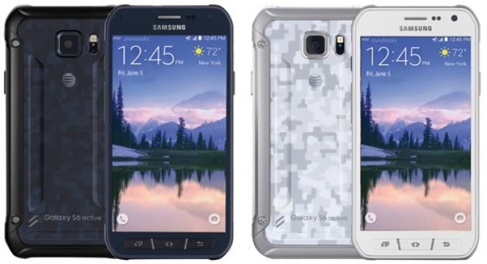 O Galaxy S6 Active terá pintura imitando camuflagem militar e proteção contra água (Foto:Reprodução/GSMArena)