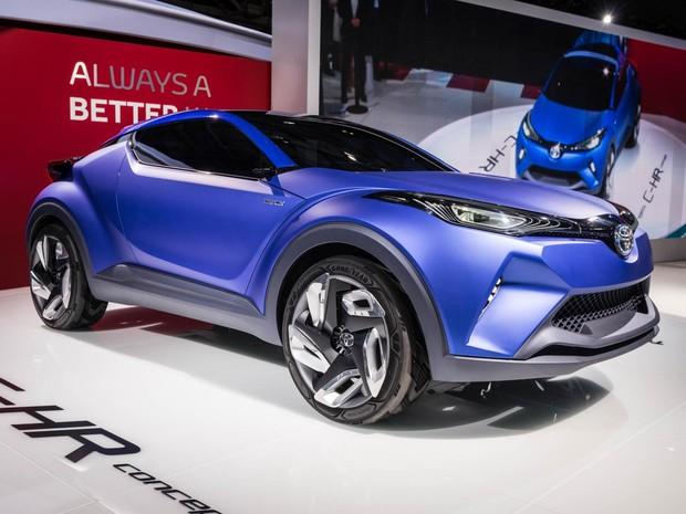 Toyota C-HR Concept (Foto: Divulgação/Newspress)
